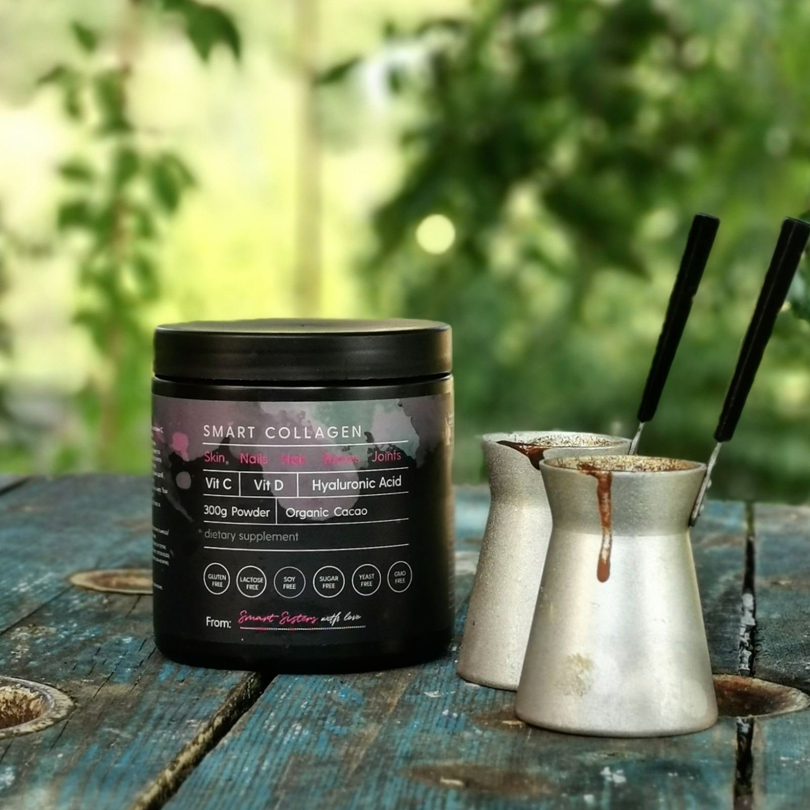 smart collagen and coffee