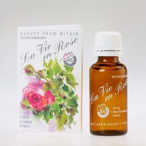 Хранителни добавки с роза