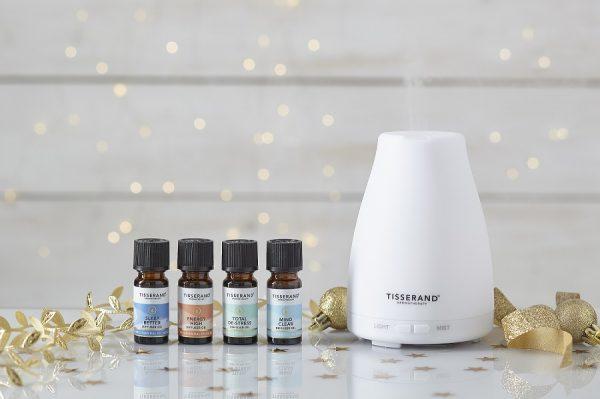 колекция етерични масла и блендове wellbeing tisserand