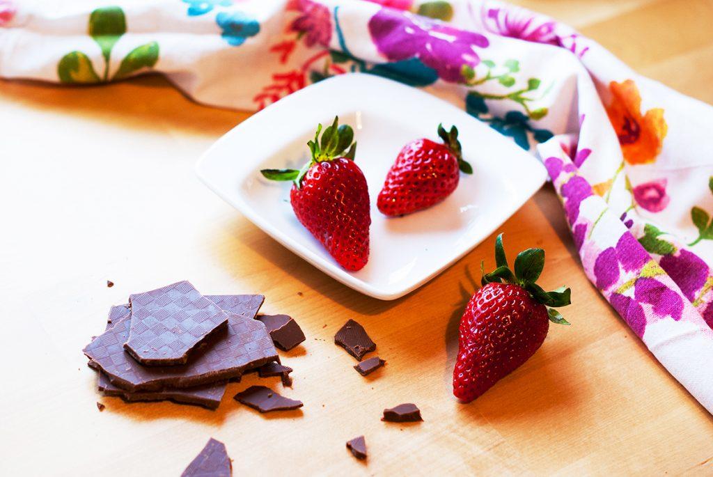 тарт с ягоди и шоколад 2