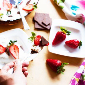 тарт с ягоди и шоколад 1