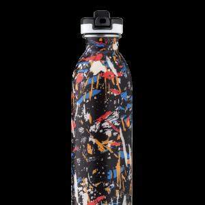 еко бутилка за вода 500 мл стомана