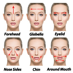 face roller massage instructions