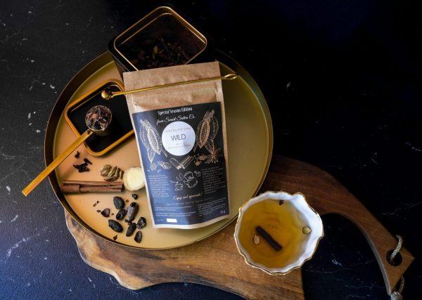 Chocolate Chai Wild какаов чай с масала подправки 2