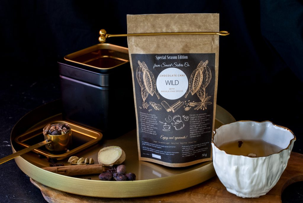Chocolate Chai Wild какаов чай с масала подправки 3