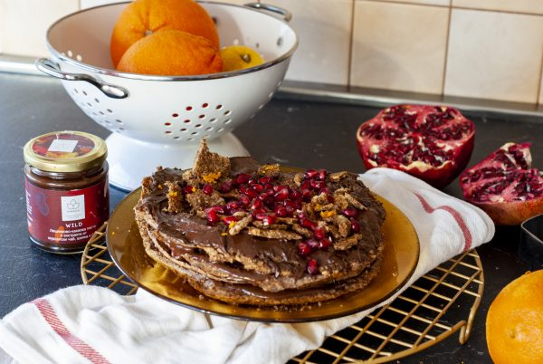 шоколадова торта без глутен 3