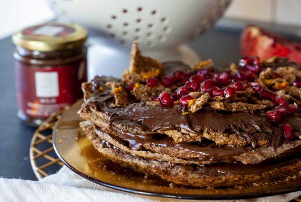 шоколадова торта без глутен 2
