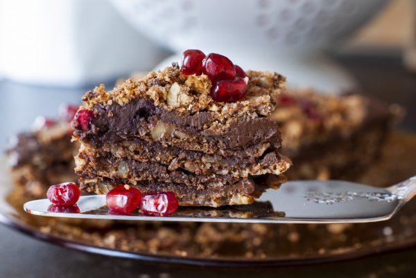 шоколадова торта без глутен 5