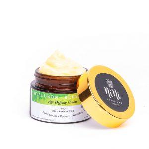 Nini Organics Хиалурон Антиейдж Био крем за смесена към мазна кожа с натурална Хиалуронова киселина