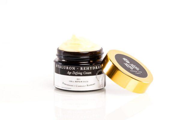 Nini Organics Хиалурон Антиейдж Био крем за нормална кожа с натурална Хиалуронова киселина
