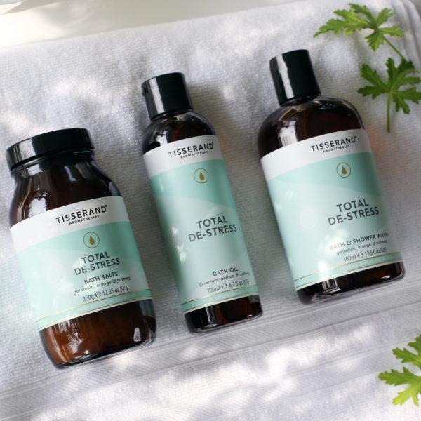 продукти с етерични масла с успокояващо действие total de stress tisserand