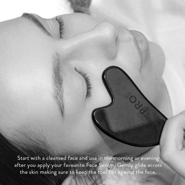 гуа ша плочка за масаж на лице обсидиан 4