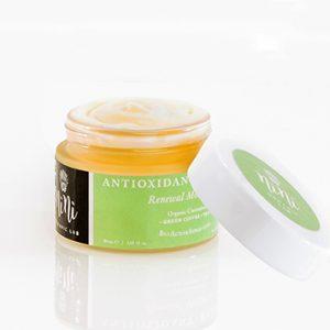 зелено кафе антиоксиданти крем за лице Nini Organics с хиалуронова киселина 3