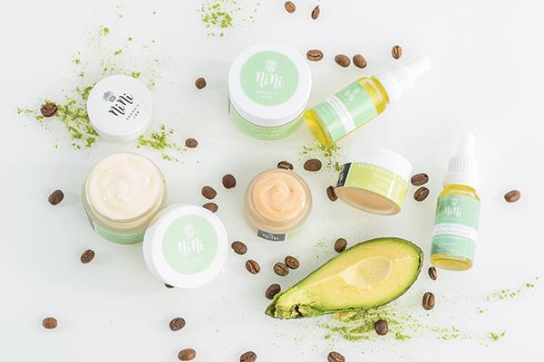 Зелено кафе антиоксиданти крем за лице Nini Organics 2