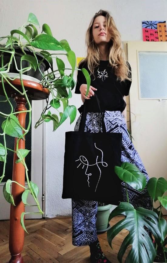 памучна чанта tote bag Juliette