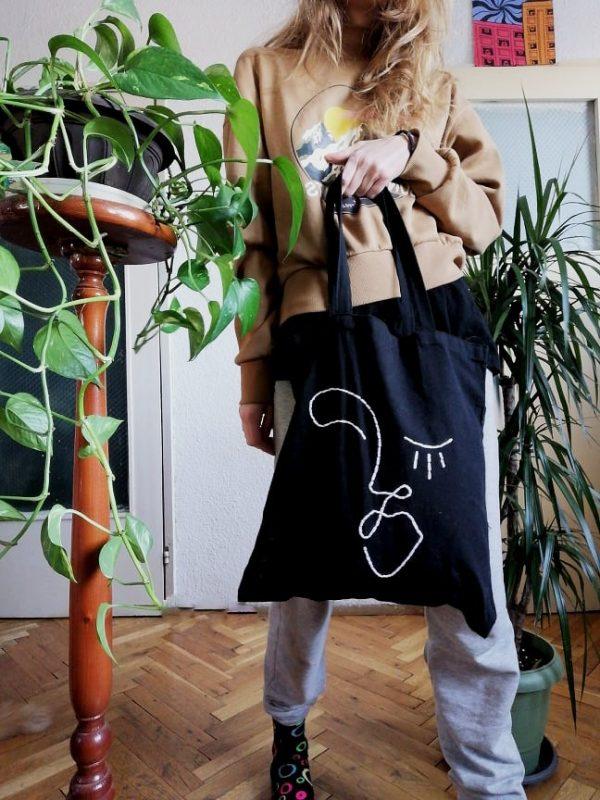 памучна чанта tote bag Lea 2