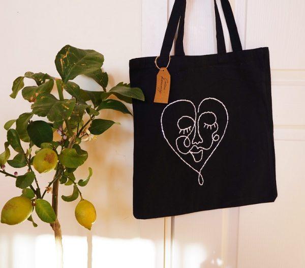 памучна чанта tote bag