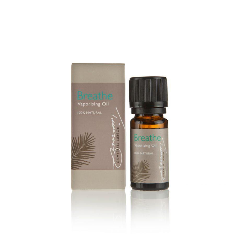breath tisserand етерични масла евкалипт, лавандула, розмарин, палмароза дишай
