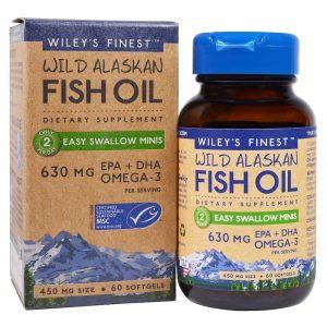 омега 3 рибено масло от дива треска
