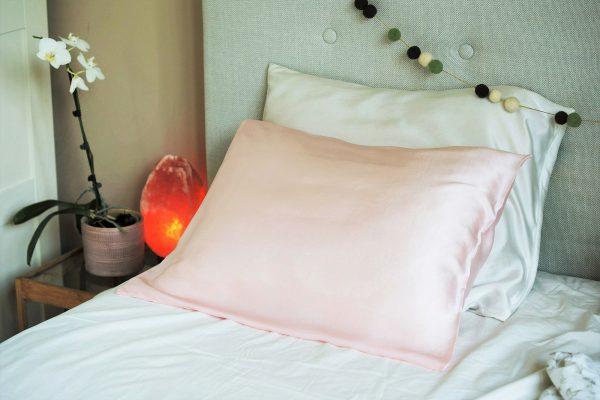 Калъфка за възглавница естествена коприна