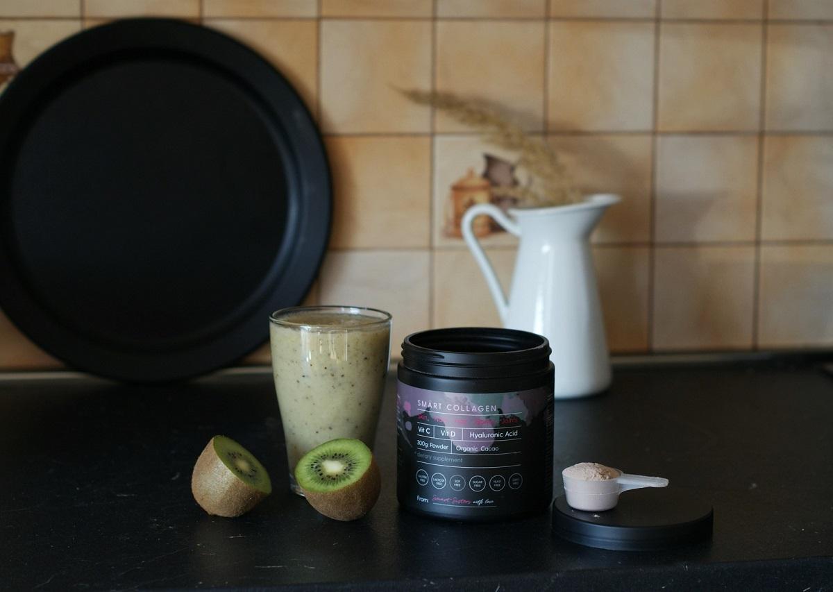 kiwi smoothie smart collagen